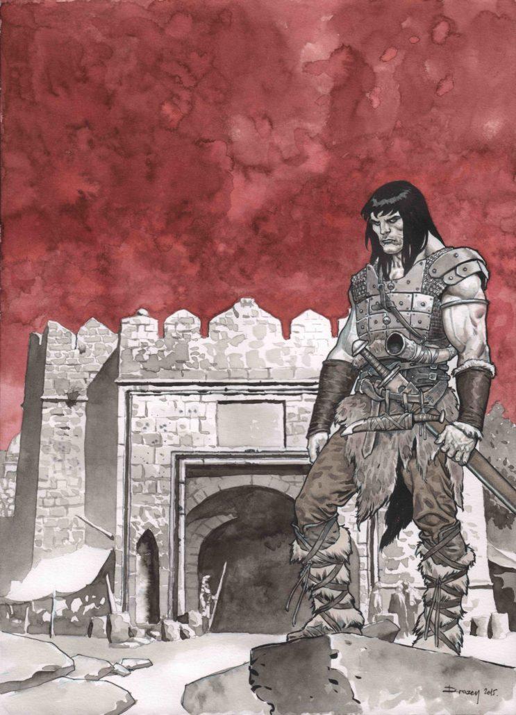 Guerrier dos à la Citadelle - Drazen Kovacevic