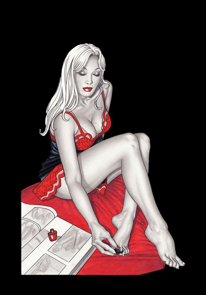 Rouge féminité - Giovanna Casotto