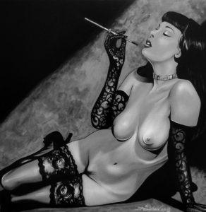 Dita fume - David Ducarteron